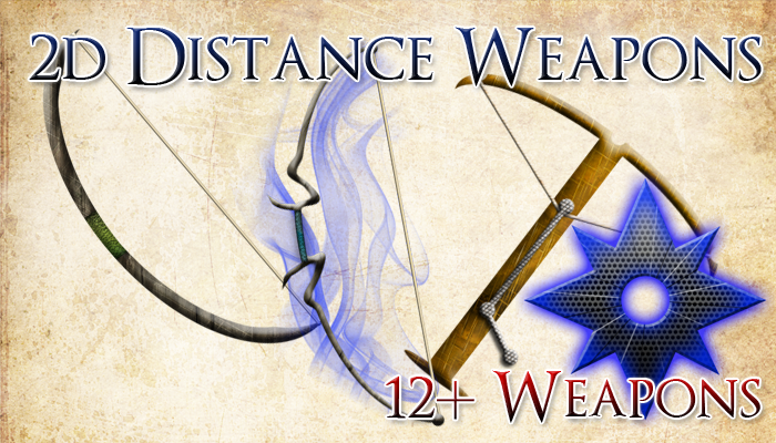 Simple and Magical Distance Weapons