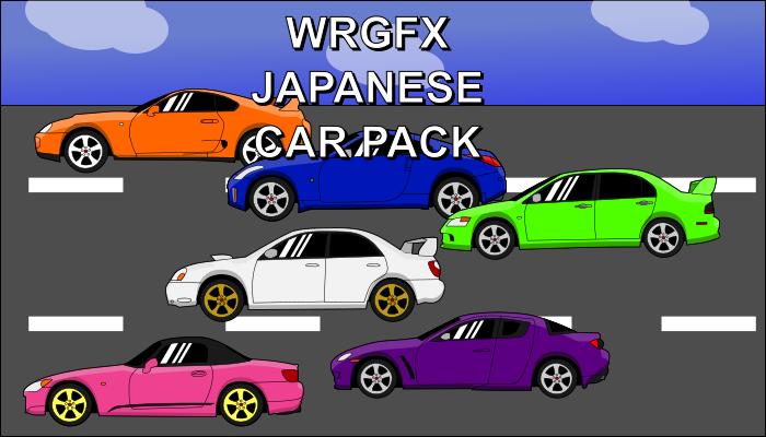 -WRGFX- Japanese Car Pack