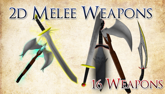 Simple and Magical Melee Weapons