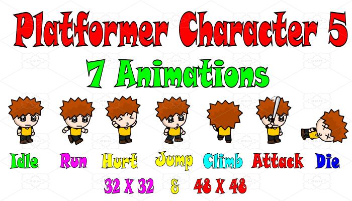 Platformer Character 5
