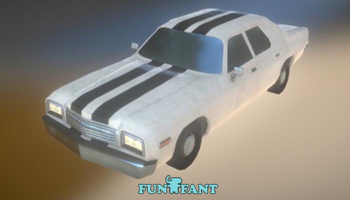 Large American Car