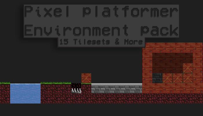 32x 32 Pixel Platformer Environment Pack