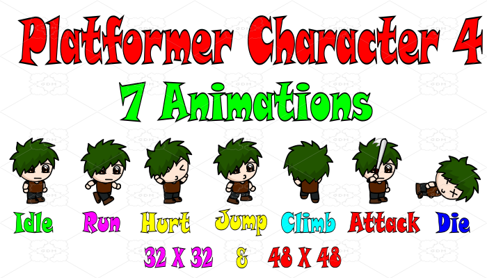 Platformer Character 4
