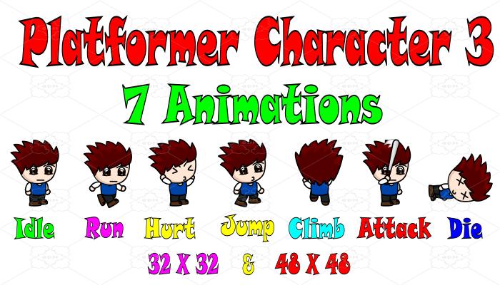 Platformer Character 3