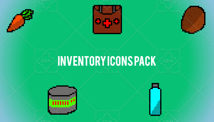 Inventory Icons Pack