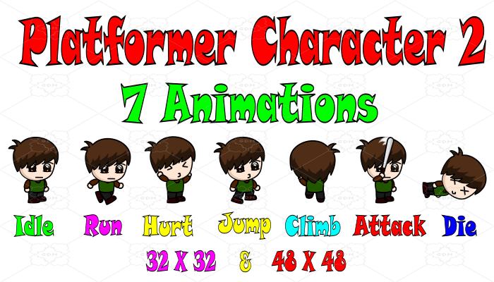 Platformer Character 2