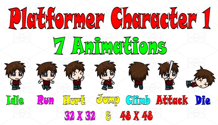 Platformer Character 1