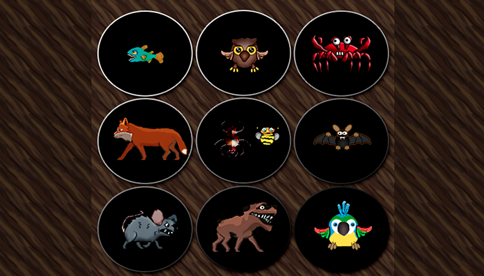Free Animal Enemies animations
