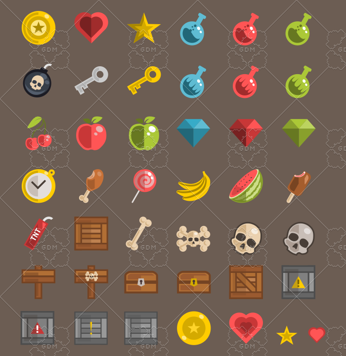 Collectables and Objects Pack