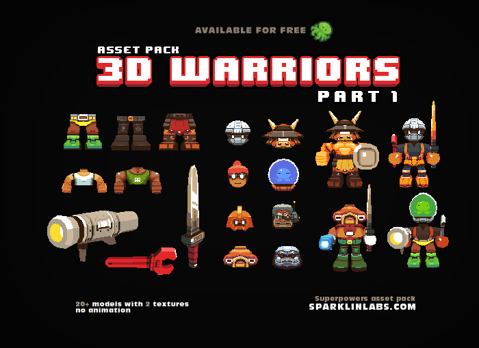3D Warriors