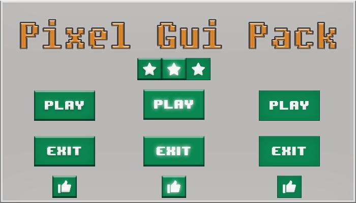 8-bit GUI Pack