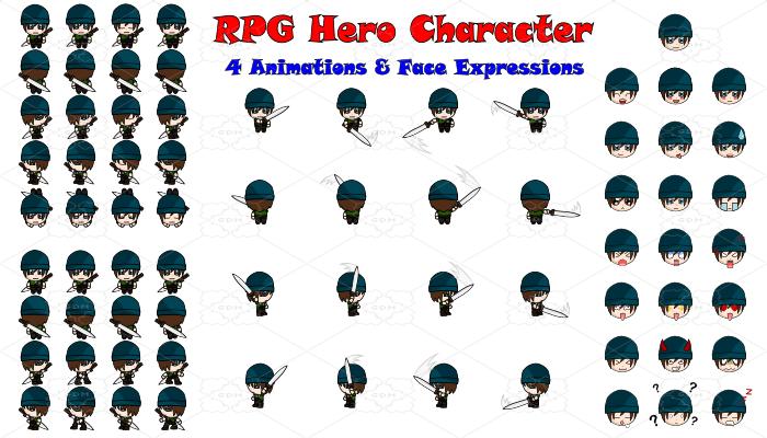 RPG Hero Character 15