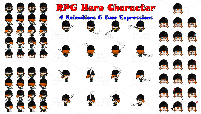 RPG Hero Character 14
