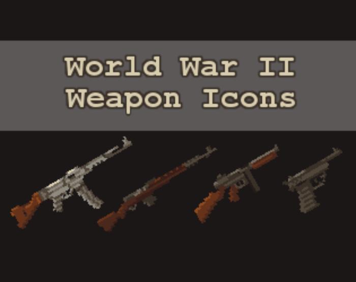 World War II Weapon Icons