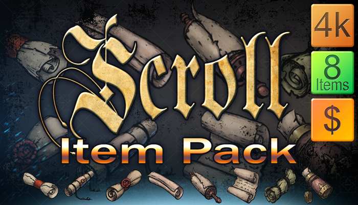 Scroll Item Pack