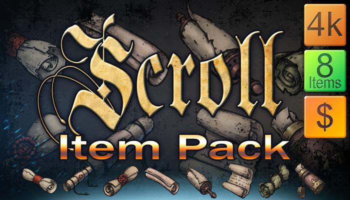 Scroll Item Pack