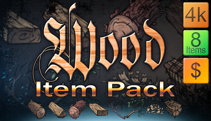 Wood Item Pack