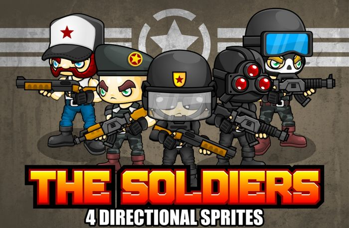 The Soldiers – Game Sprites