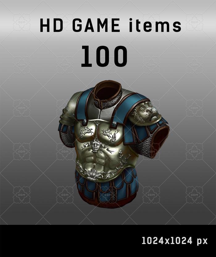 100 RPG icons