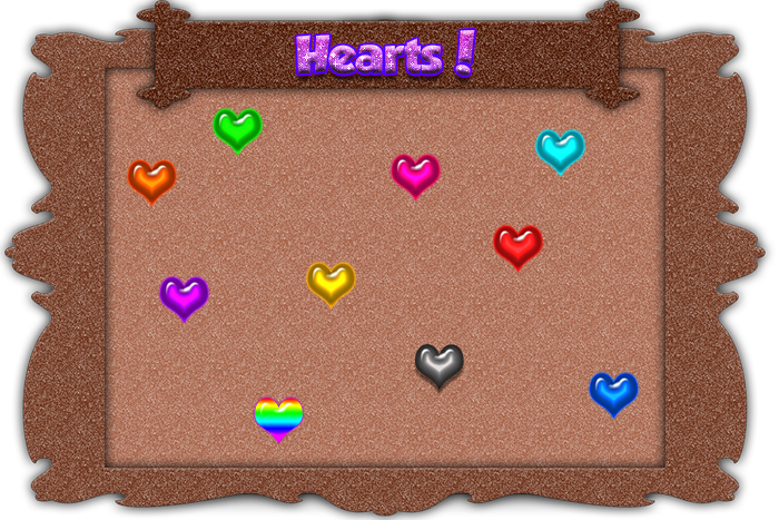 Match 3 GUI Set 1-Hearts