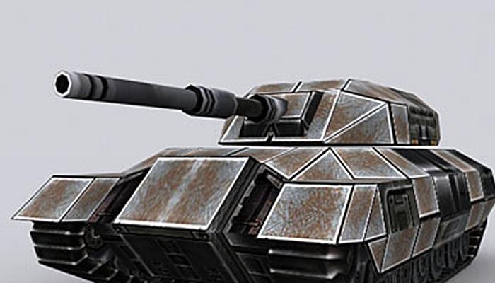 3DRT – Sci-Fi Tank T-04