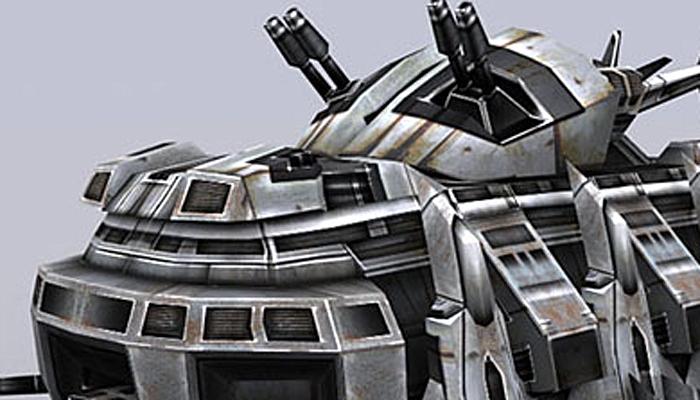 3DRT – Sci-Fi Tank AC-7