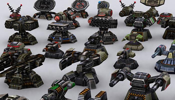 3DRT – Wargear Turrets Extreme
