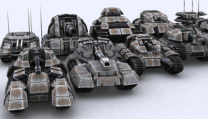 3DRT – Sci-Fi Tanks