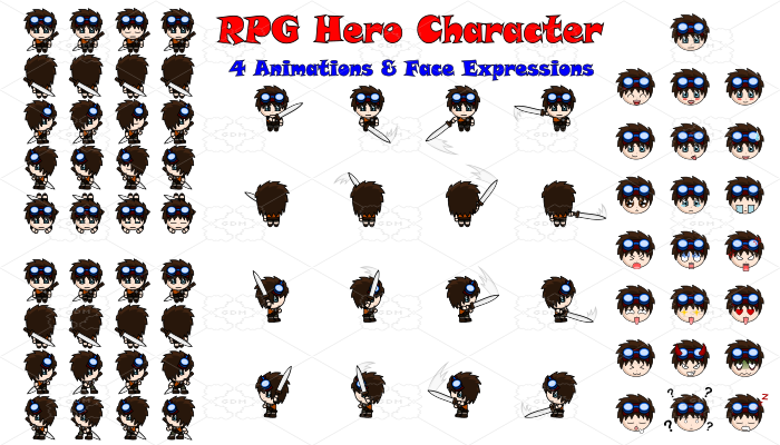 RPG Hero Character 13