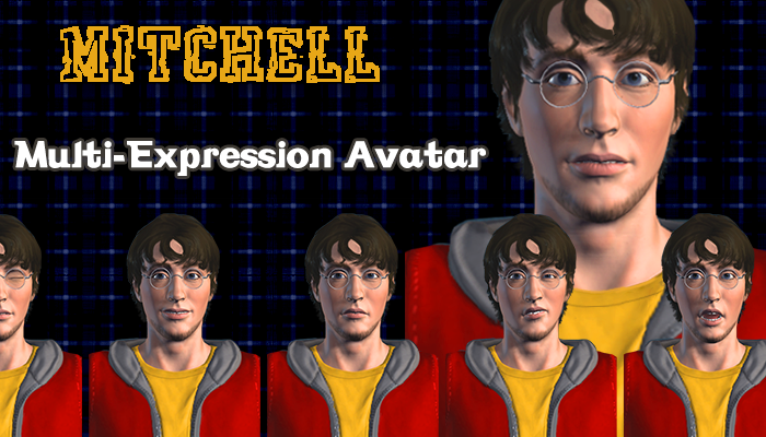 Mitchell – Multi-Expression Avatar