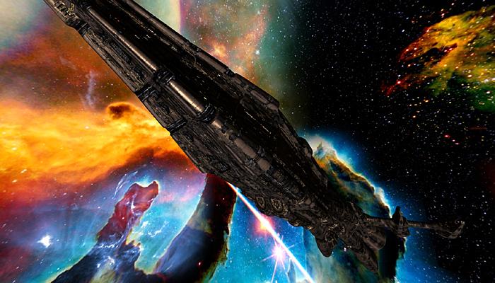 3DRT – Sci-Fi Norad Battleships