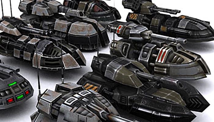 3DRT – Hover Tanks
