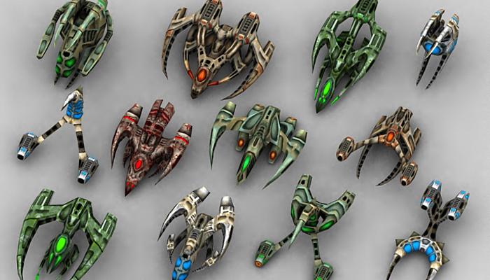 3DRT – Alien Invasion Pack