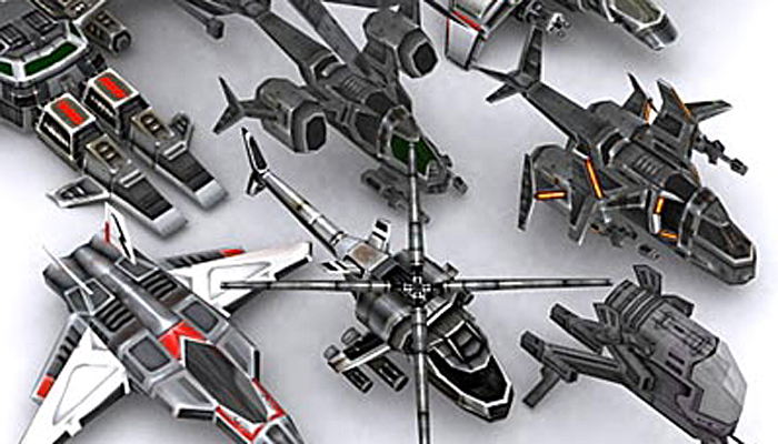 3DRT – Sci-Fi Airspace Collection