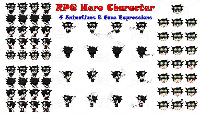RPG Hero Character 12