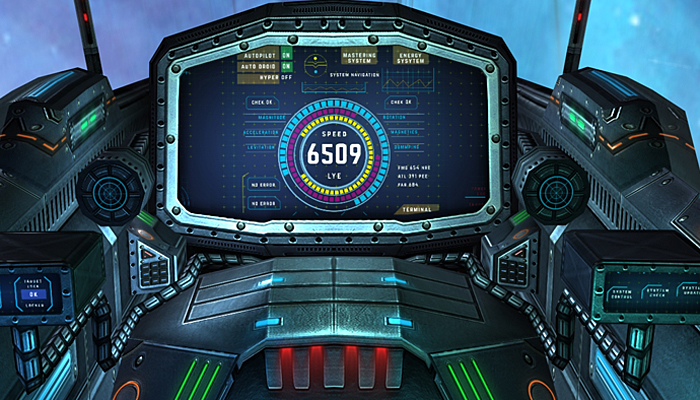 3DRT -Sci-Fi Spaceships Cockpits