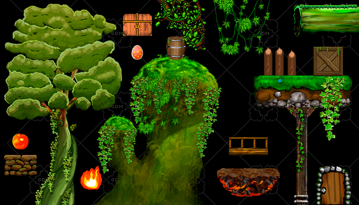 FREE 2D Game objects
