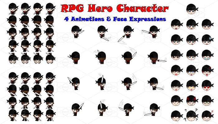RPG Hero Character 11