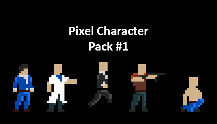 Pixel Character Pack 1