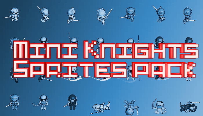 Mini Knights Sprites Pack