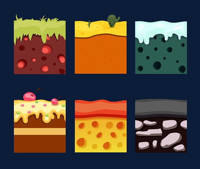 2D Seamless Tiles for Games