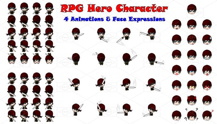 RPG Hero Character 10