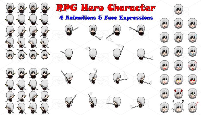 RPG Hero Character 9