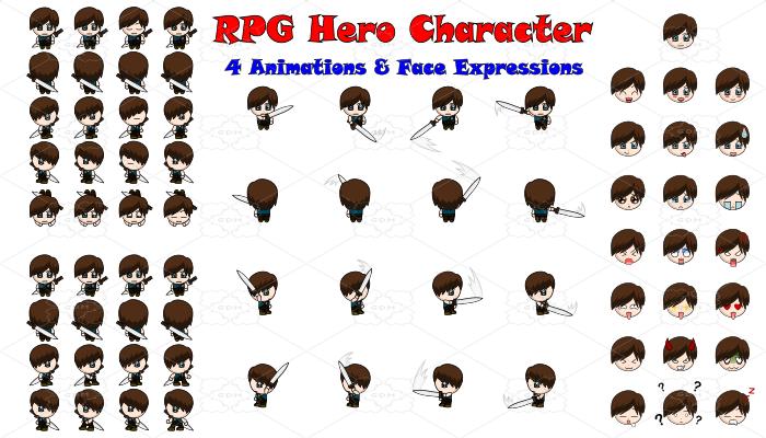 RPG Hero Character 8