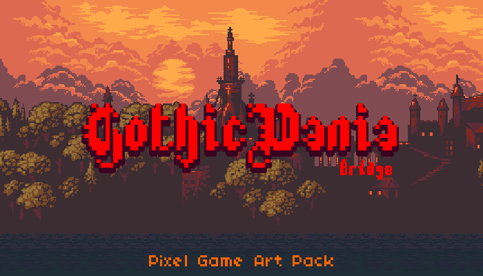 GothicVania – Game Pixel Art Kit