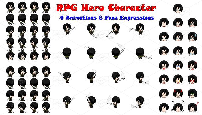 RPG Hero Character 7