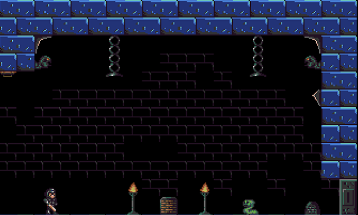 Dungeon platformer set and sprites