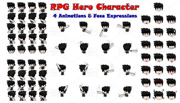 RPG Hero Character 4