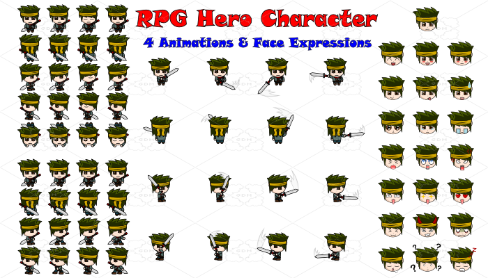 RPG Hero Character 3