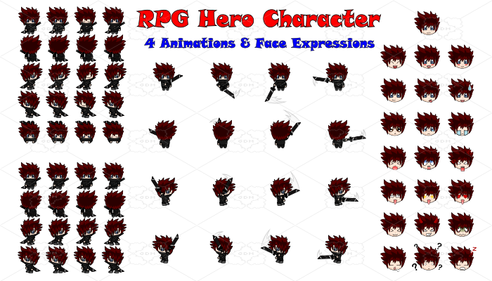 RPG Hero Character 1